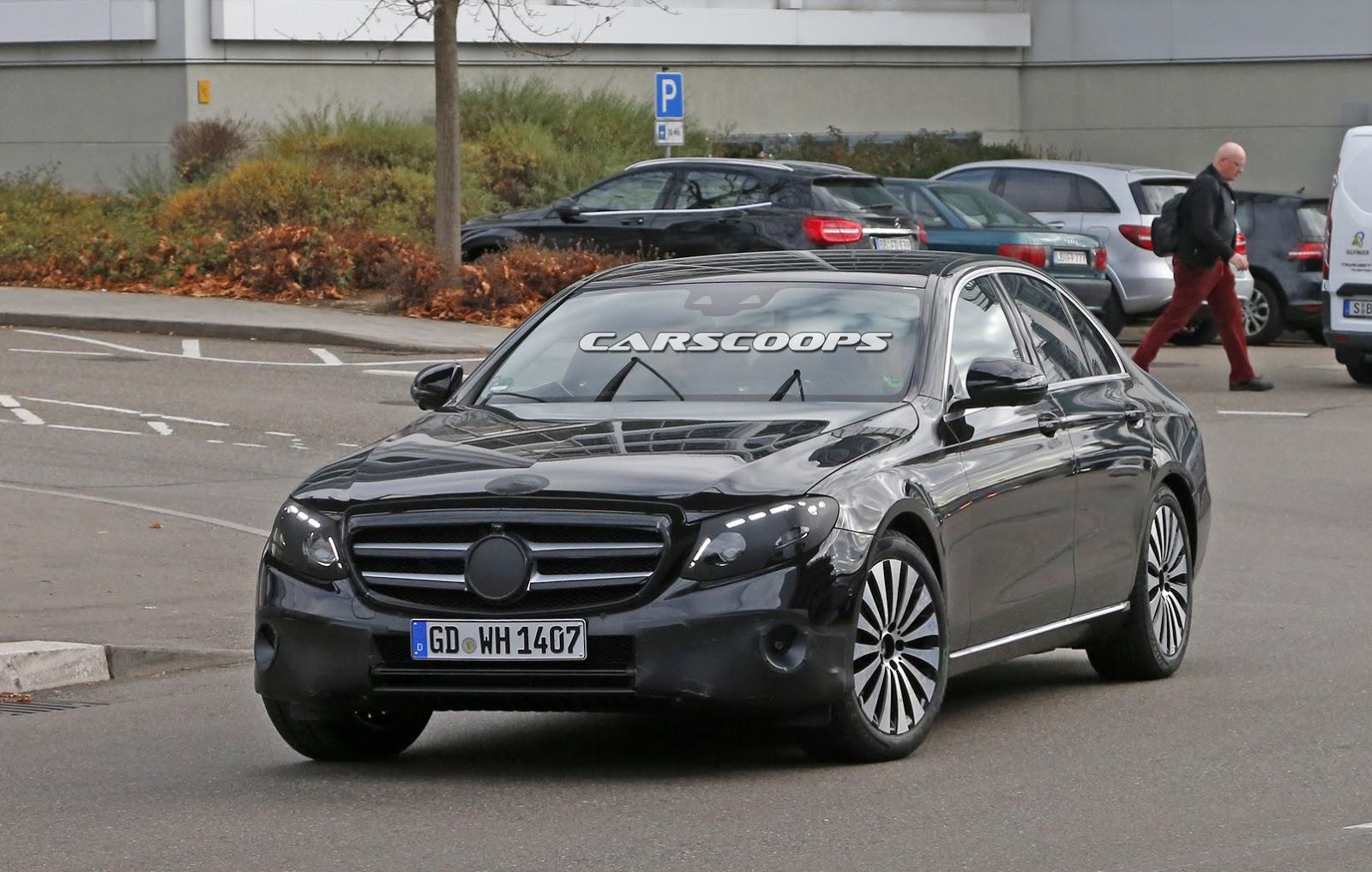 2017 mercedes benz e class official design sketch for Mercedes benz official