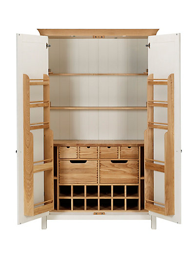 Kitchen Larder Unit ~ Paint and style turning a wardrobe into pantry