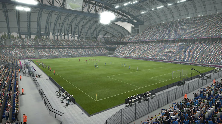 Municipal Stadium Poznan Screens   EURO 2012 Patch Add on