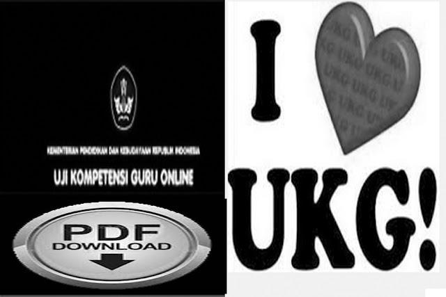 Download Kisi-Kisi Soal UKG Tahun 2015.Pdf