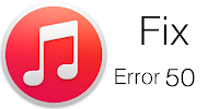 Fix iTunes Error 50