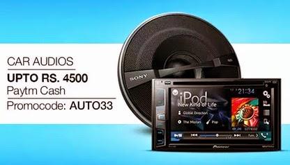 Car Audio Extra 33% Cashback