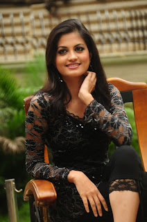 Madhulika Spotted in Transparent Black Gown Stunning Beauty Madhulika Awesome Picture Shoot