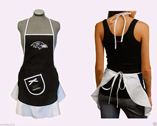 Baltimore Ravens NFL Hostess Apron