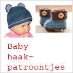 Haakpatronen voor baby