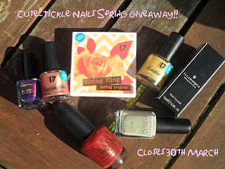 Cute-tickle Nails giveaway