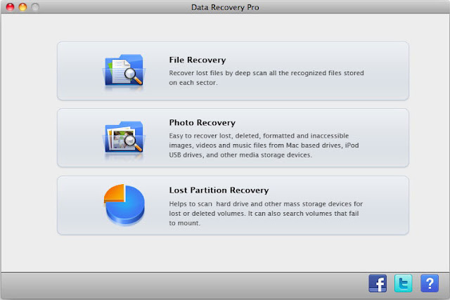 Select File Recovery Mode