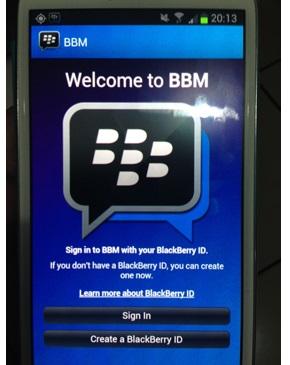 BBM Untuk Android Sudah Bisa Dicoba