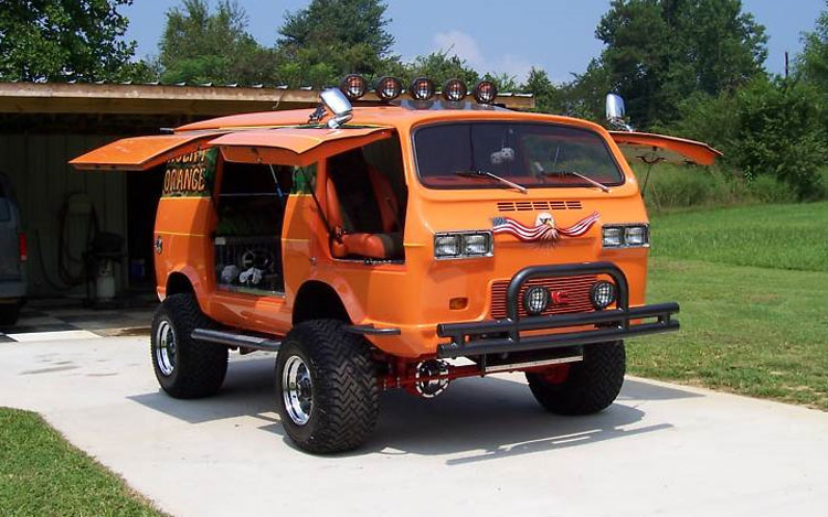 Gmc Motorhome Parts >> The Annex: Modified GMC van