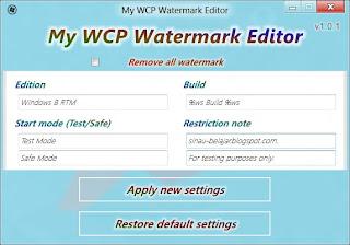 Cara Edit Dan Menghilangkan Watermark Windows 8 Consumer Preview
