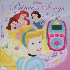Disney Princess Songs book and music-player.