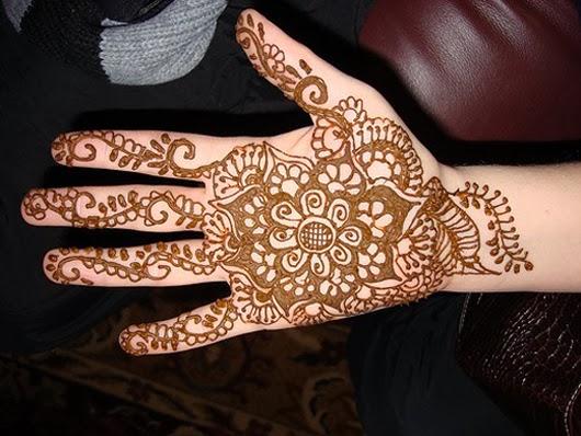 Mehndi Front Finger Design : Mehndi designs for fingers
