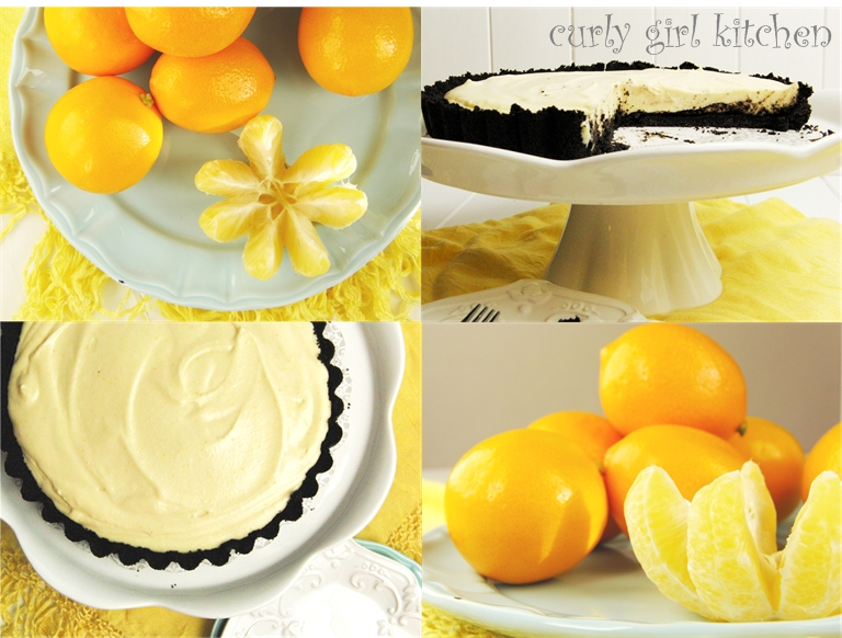 Curly Girl Kitchen: Meyer Lemon Ricotta Tart with a Chocolate Cookie ...