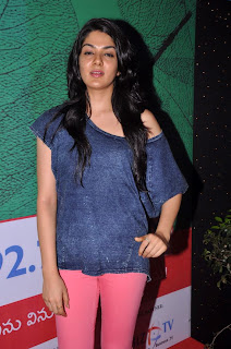 Actress Sakhi Chowdary Pictures in Tight Jeans at Green Ganesh 0001.jpg