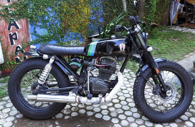 Honda GL 100 Modif Heiwa Style