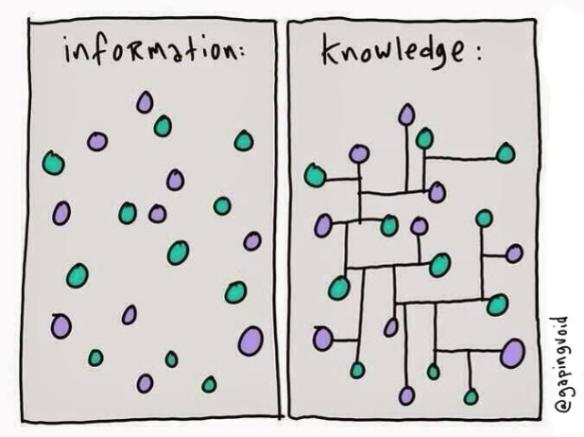 Information = Skill; Knowledge = Mastery