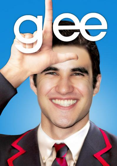 ... a glee fan but I swear Blaine's so cute but disappointingly a gay role.