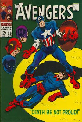 Avengers #56, Captain America, Bucky