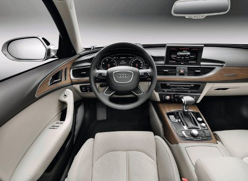 7 of 7 - 2012 Audi A6 Interior Pictures
