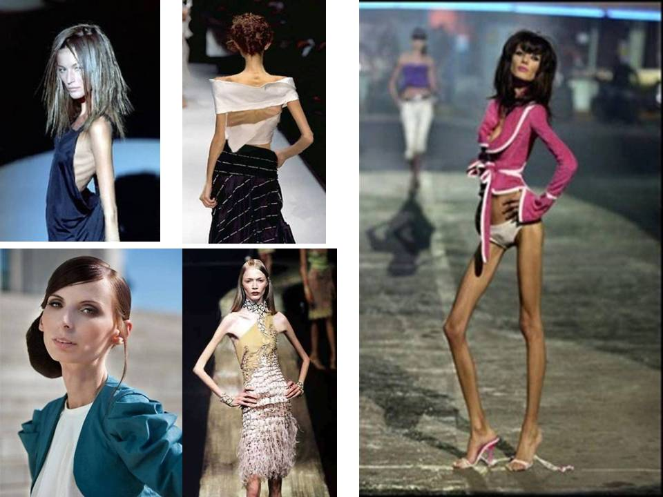 The world's thinnest Fashion Models