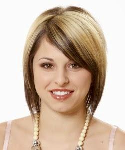 Memilih Model Rambut Untuk Wajah Bulat Yang Tepat