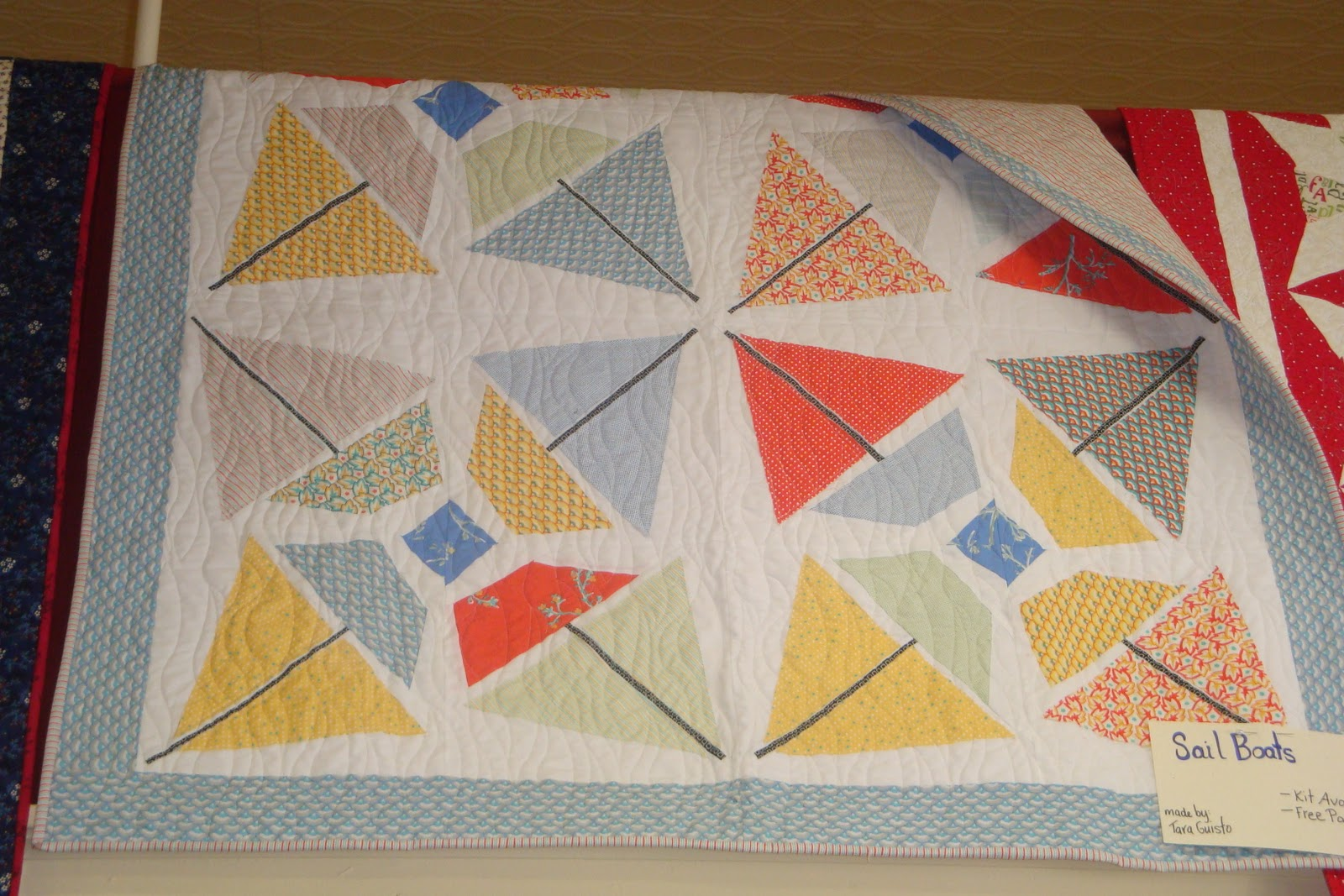 THE QUILT BARN: Fairy Tale Sailboats : sailboat quilt pattern - Adamdwight.com