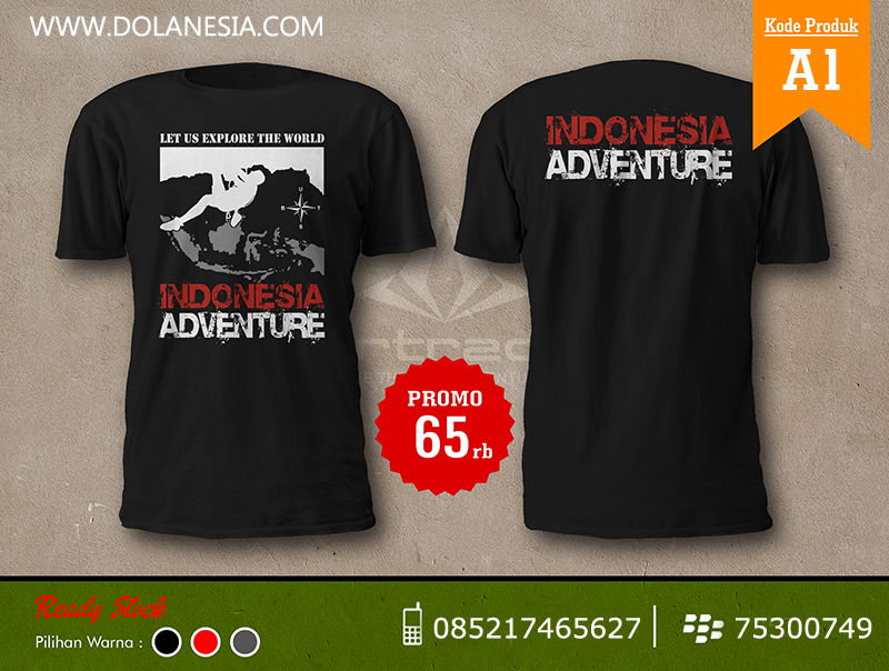 Kaos Adventure Indonesia