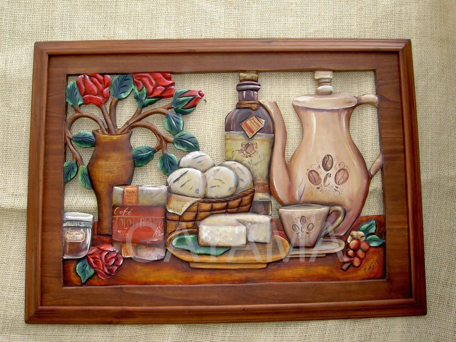 Despertando al arte cuadros tallados y calados - Fotos en madera ...