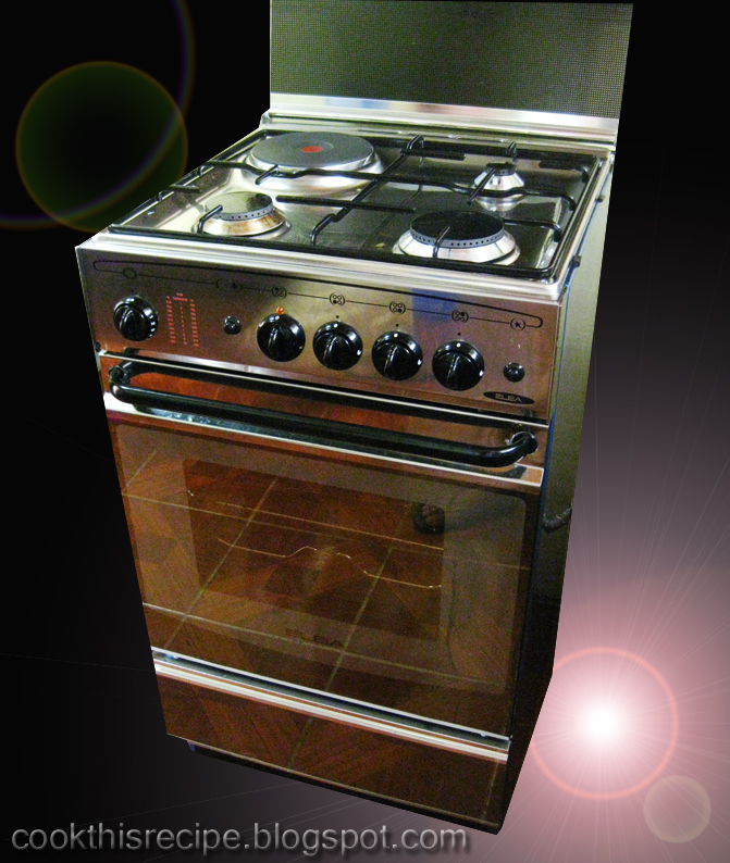 Cook this Recipe: Our First Elba Gas Range