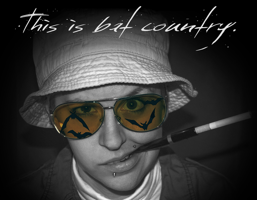 For Peet's Sake blog Fear and Loathing in Las Vegas bat country Hunter S. Thompson