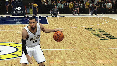 NBA 2K13 DJ Augustin Cyberface 2K Patch
