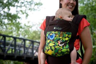 Motxila de porteo BOBA per bebé