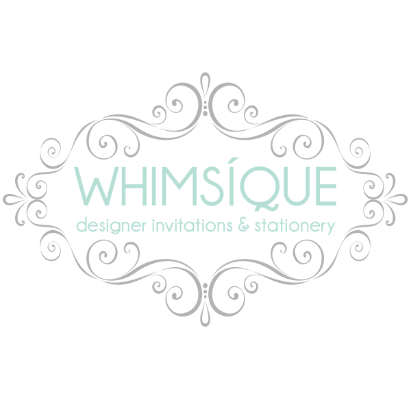 Whimsique: Designer Invitations & Stationery