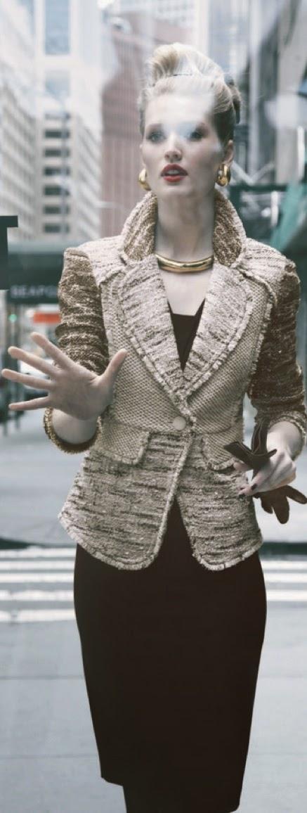 Toni Garrn for Neiman Marcus