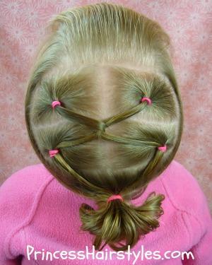 gymnastics hairstyles twist link