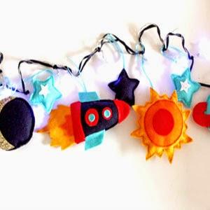 Buy Handmade | Christmas Gift Guide For Children - Rocket Fairy Lights
