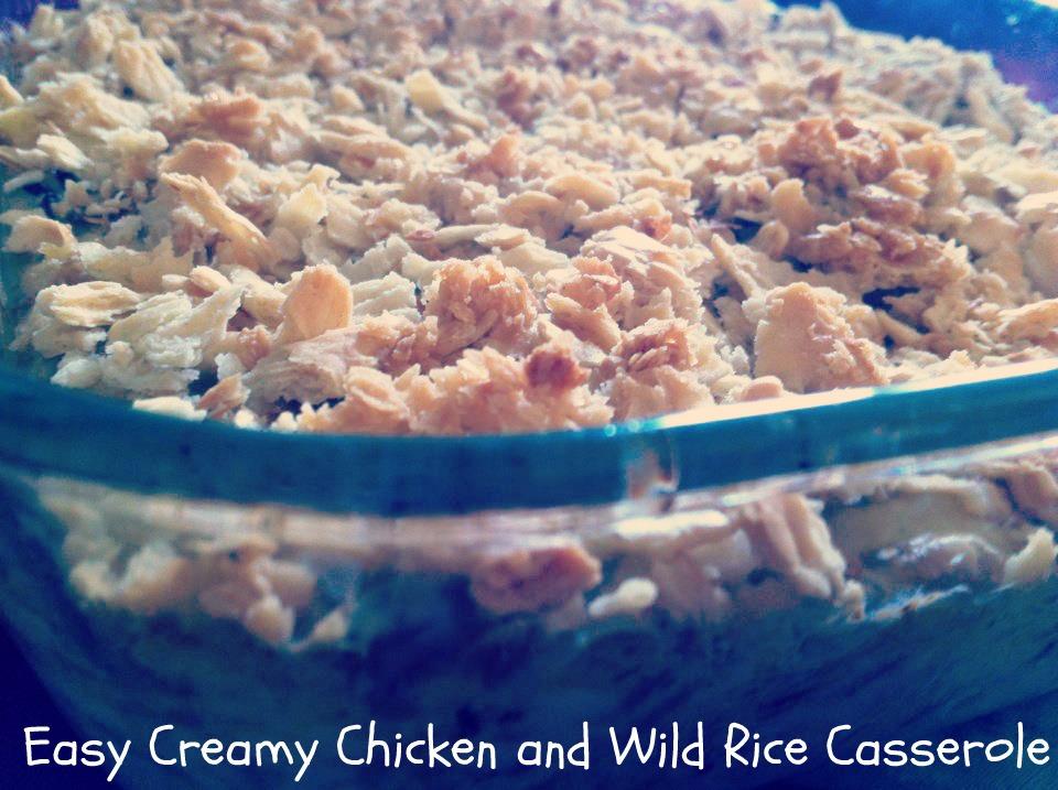 Creamy Chicken And Rice Casserole Recipe — Dishmaps
