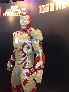 Iron Man built in Lego