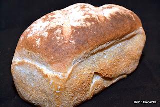 Chleb owsiany, przypadkowy.