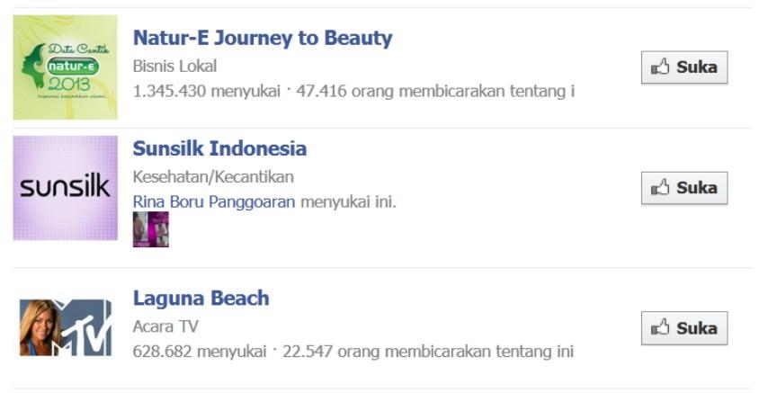 Facebook Baru Cara Daftar FB Indonesia Fanspage Halaman Suka