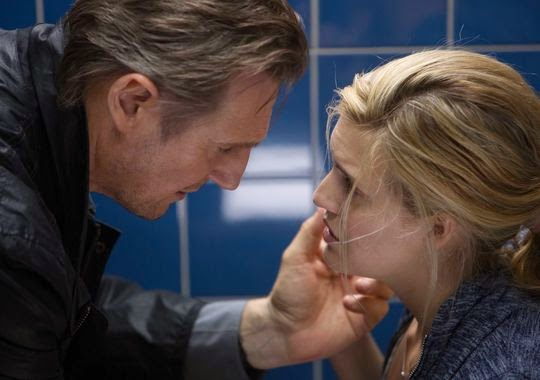 Liam Neeson with Maggie Grace in Taken 3