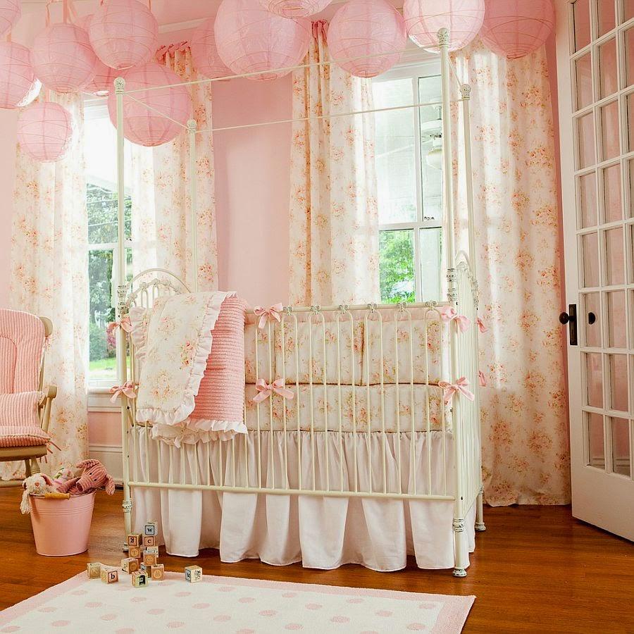 Conseils déco et relooking: paradis rose parfait pour votre bébé fille