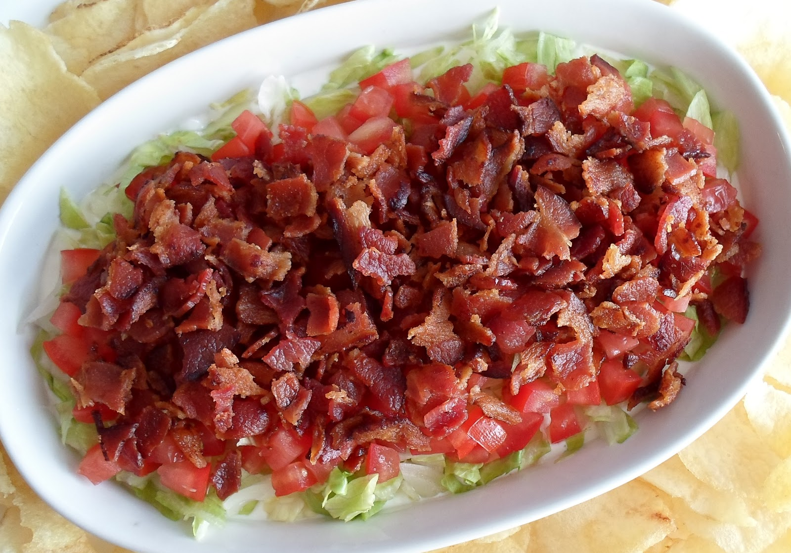 Happier Than A Pig In Mud: BLT Dip