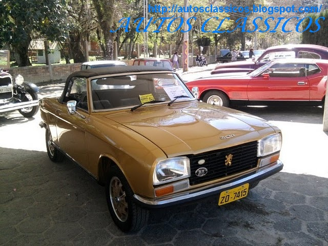 AUTOS CLÁSSICOS: GALERIA DE CLÁSSICOS - PEUGEOT 304s CABRIOLET 1974