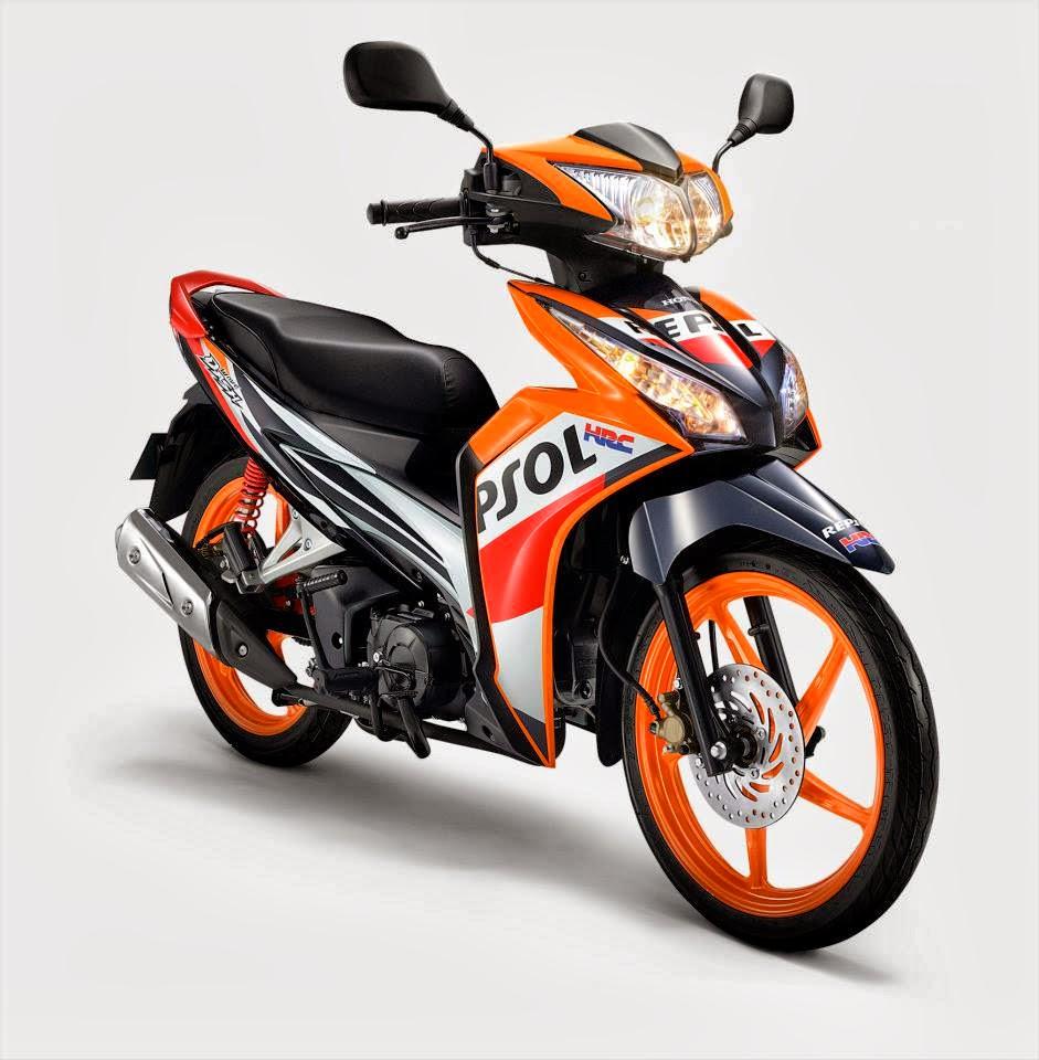 honda wave dash repsol edition 2013 - bergaya seperti juara motogp