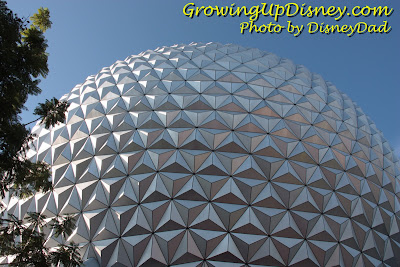 EPCOT Spaceship Earth Growing Up Disney