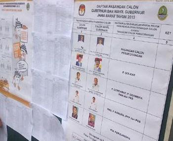 Pilkada Jawa Barat, Pemilihan umum, memilih gubernur Jawa Barat,Surat undangan memilih,panwaslu pilgub, Petugas PPS, Daftar pemilih tetap