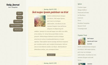 Demo Savarona Blogger Template
