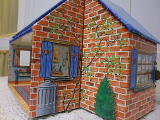 paper dollhouse