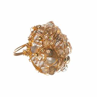 Gold ring, handmade ring, Elisha Francis London, Elisha Francis Jewellery, Women's Jewellery